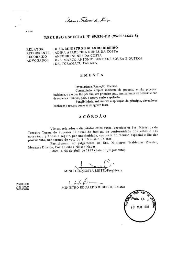 Direito Sao Bernardo   InventáRio   Julgado Stj   090828   Julgado 11