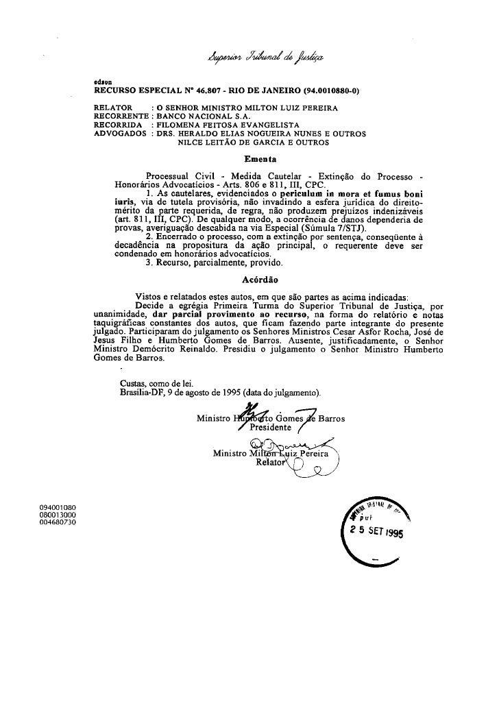 Direito Sao Bernardo   LaboratóRio Tutelas De Urgencia   100118   Decisao Stj 1 Ppt