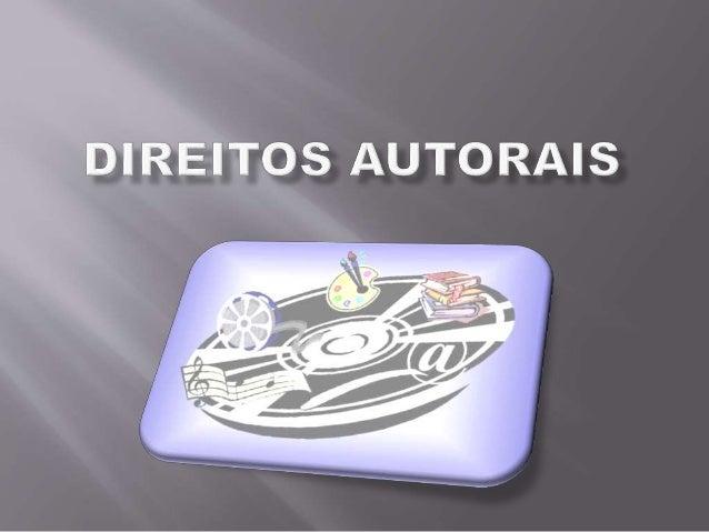  Art. 1º Esta Lei regula os direitos autorais, entendendo-se sob esta denominação os direitos de autor e os que lhes são ...