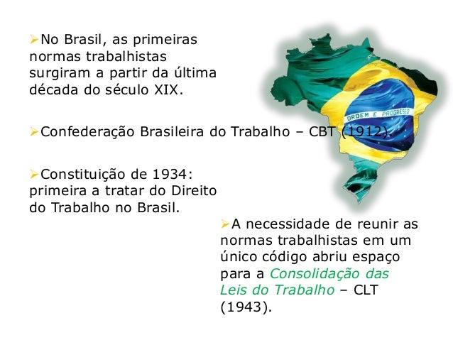A Consolidação das Leis do Trabalho é a principal norma legislativa brasileira referente ao Direito do Trabalho e ao Dire...