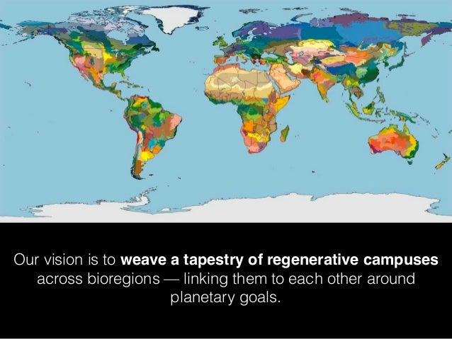Our vision is to weave a tapestry of regenerative campuses across bioregions — linking them to each other around planetary...