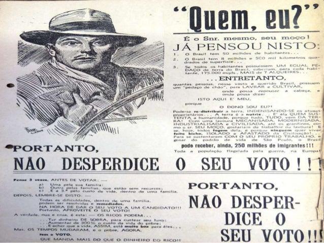 À? ORTANTO,   J  n*     .  r  Toda  NÀQ  Pau. . 3 votos.   DESPER  ANTES D( VOTAR:      a)  uma pela su. . Íarnulia' b' ou...