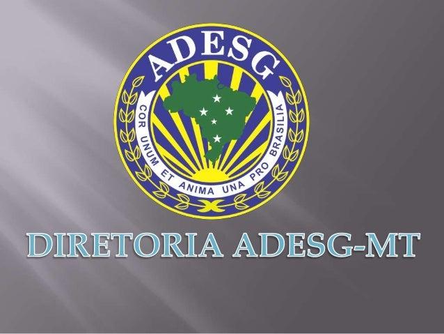 DIRETORIA EXECUTIVA  Delegado de Honra: General de Brigada Carlos Alberto Maas Delegado: Proc. Paulo de Brito Cândido