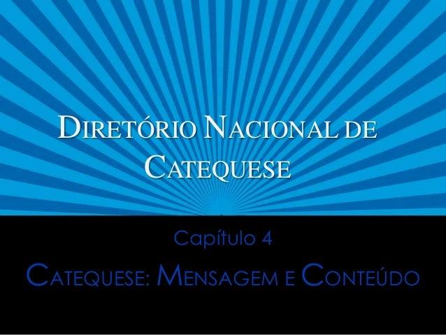 DE CATEQUESE BAIXAR PARA DIRETORIO NACIONAL