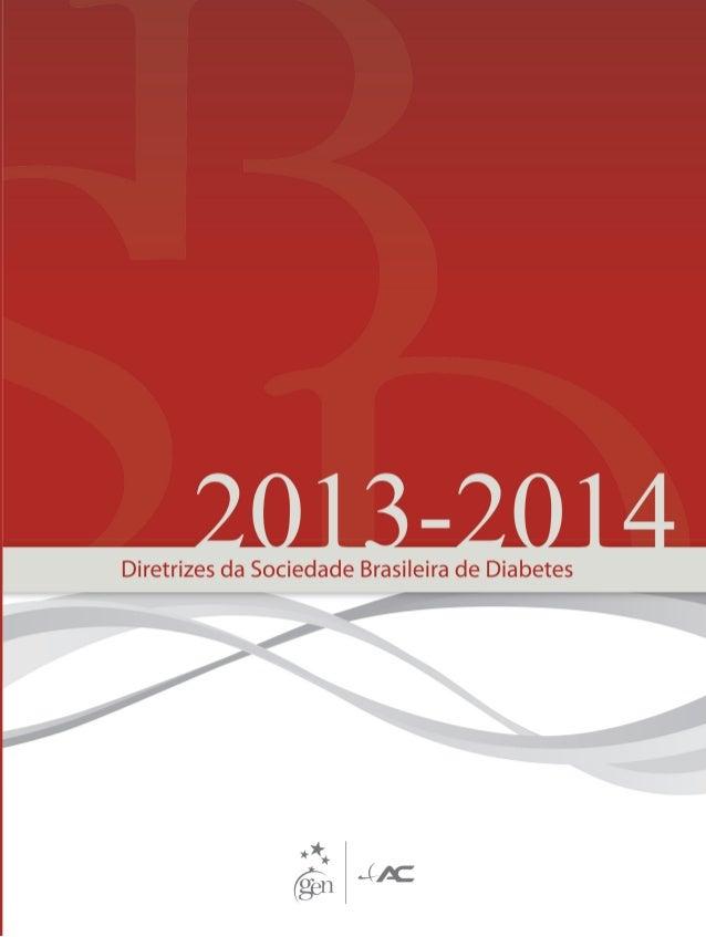 Diretrizes brasileiras de diabetes 2013/2014