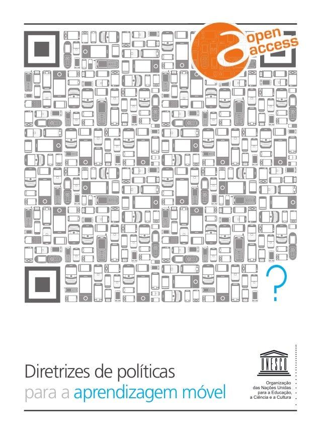 Diretrizes de políticas para a aprendizagem móvel