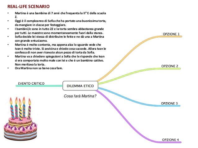 • Martina è una bambina di 7 anni che frequenta la II° E della scuola Z. • Oggi è il compleanno di Sofia che ha portato un...