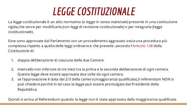 Diritto e costituzione