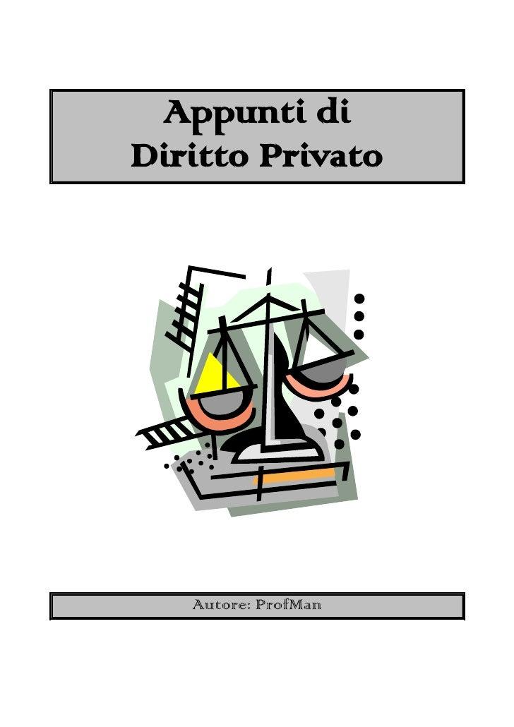 Matrimonio In Diritto Privato : Appunti di diritto privato