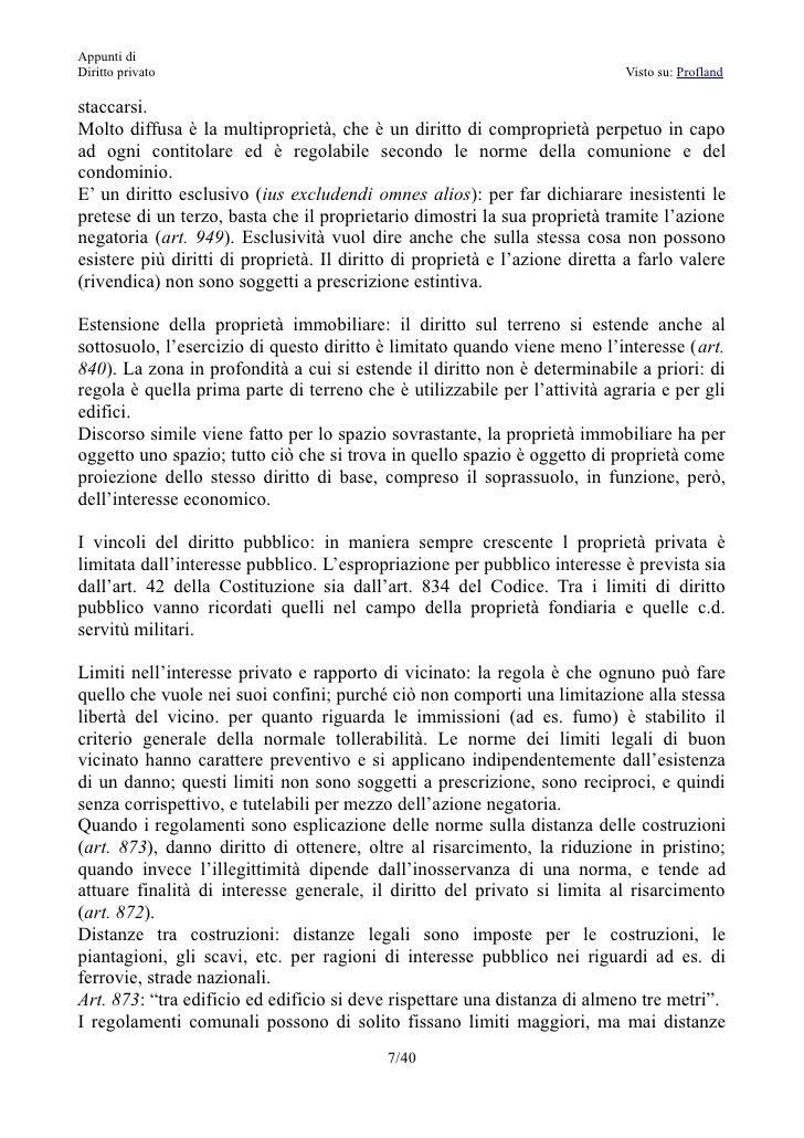Appunti di diritto privato - Diritto di abitazione su immobile in comproprieta ...