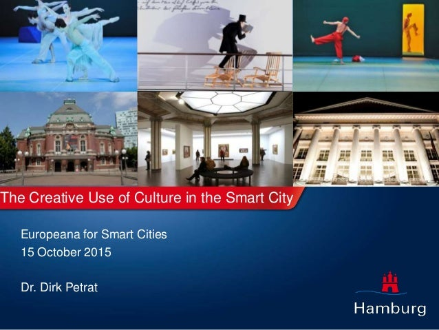 the creative use of culture in the smart city use cases