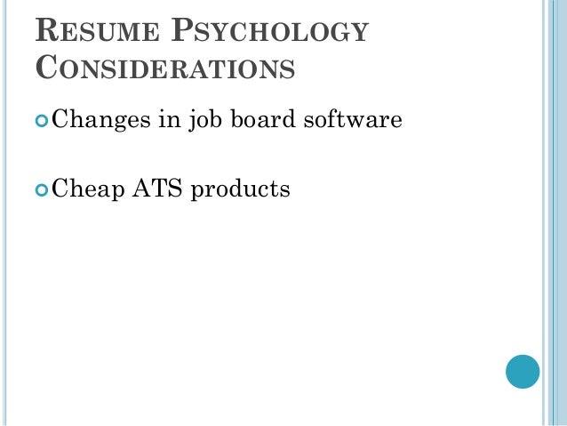 dirk spencer resume psychology