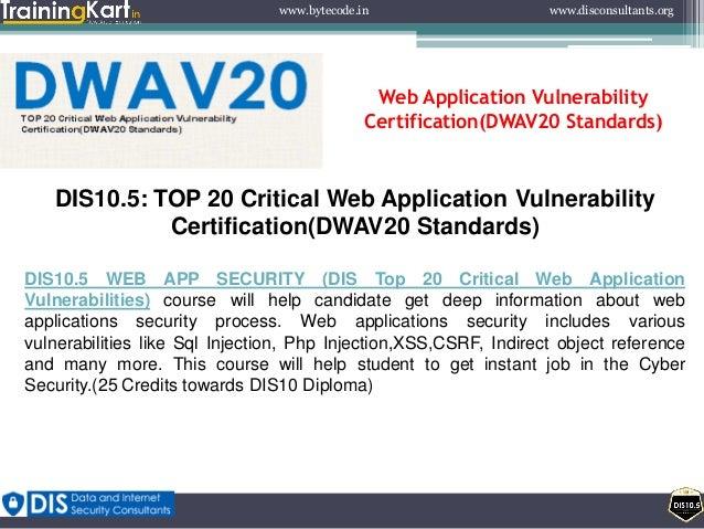 Dis10 5 top 20 critical web application vulnerability