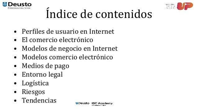 Curso eCommerce. 01. Modelos de negocio en internet Slide 2