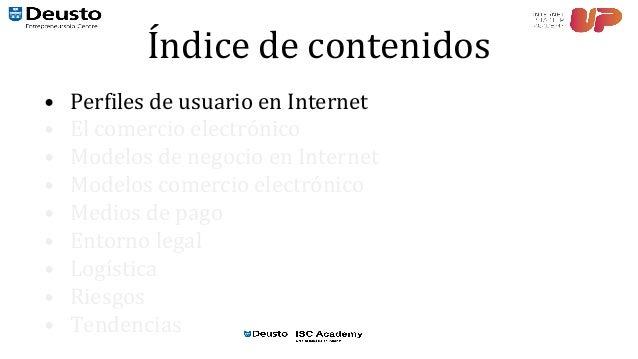 Curso eCommerce. 01. Modelos de negocio en internet Slide 3