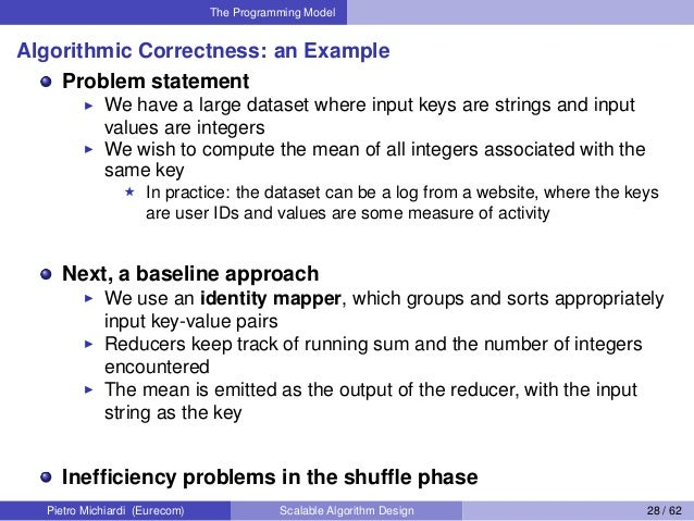 scalable algorithm design with mapreduce