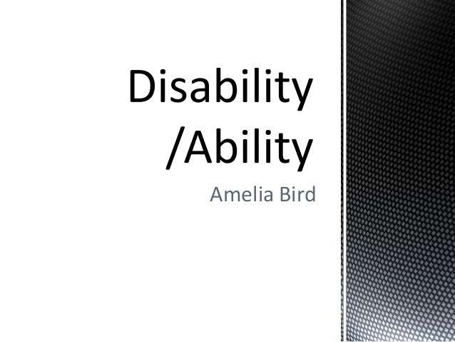 Amelia Bird