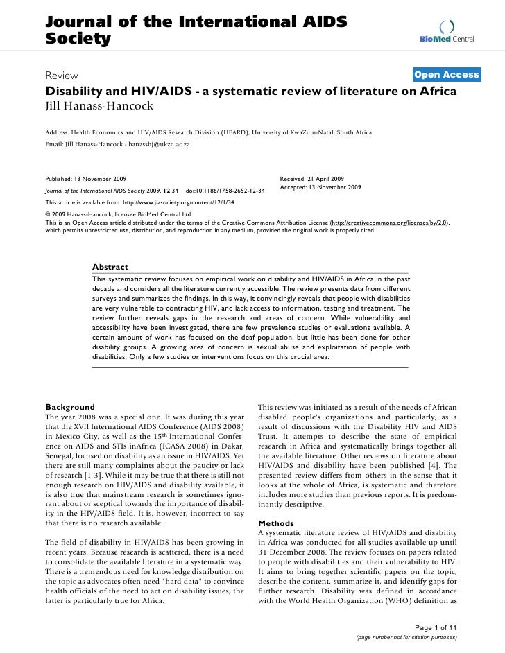Journal of the International AIDS Society                                                                                 ...