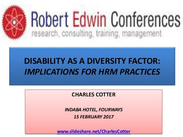 disability as diversity Disability, race/ethnicity and gender: themes of cultural oppression, acts of individual resistance attention to how other dimensions of human diversity interact with disability to create lived experiences (block, balcazar, & keys, 2001 olkin & pledger.