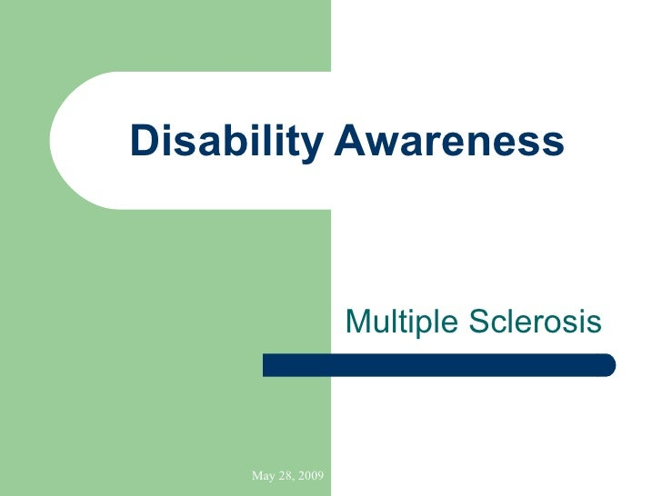 Disability   Awareness Multiple Sclerosis