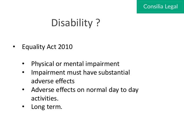 Disability Discrimination What You Need To Know