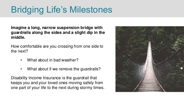 Bridging Life's Milestones Imagine a long, narrow suspension bridge with guardrails along the sides and a slight dip in th...