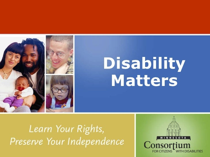 Disability Matters