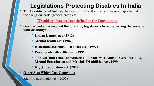 Disability rehabilitation