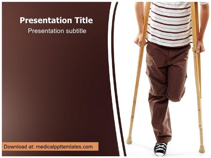 Presentation Title Presentation subtitle Download at: medicalppttemlates.com