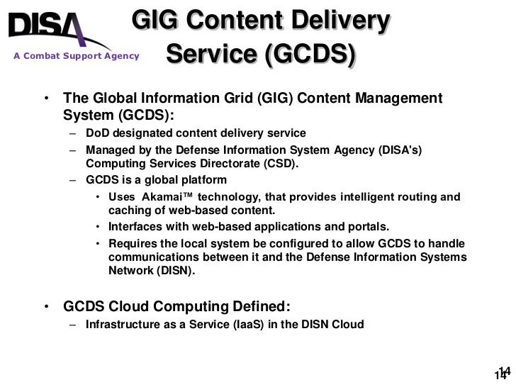Disa CSD Cloud Brief Sept 2009 Hjs