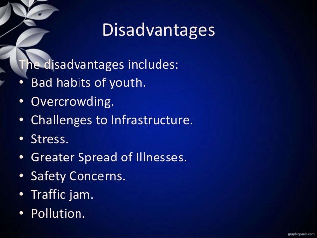advantages and disadvantages of rural life essay Biggest disadvantage in rural area is lack of employment opportunity village related industries are scarce and not paying much agriculture is dicy and market for agricultural produce is not favorable to farmer others essential facilities - electricity, telecommunications, health, transportation.