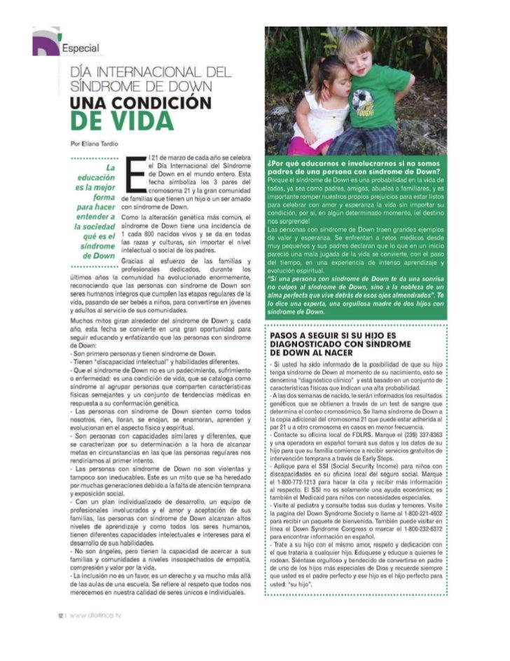 Dia Internacional del Sindrome de Down 2011