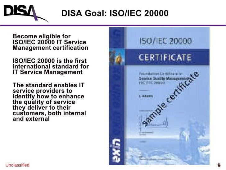 Disa Itsm V1 3