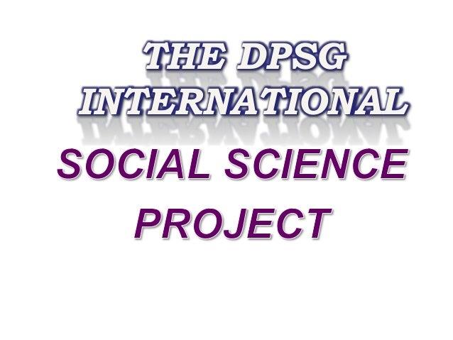 THE DPSG INTERNATIONAL