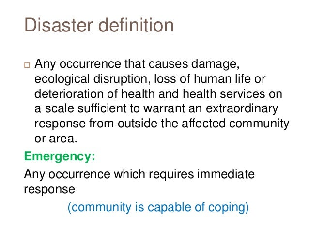 Disaster and-communicable-diseases Slide 3