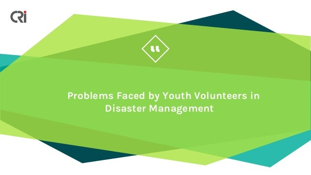 youth involvement in disaster management Results based management system   more references o children and youth's engagement in disaster risk  asian children want greater involvement in disaster.
