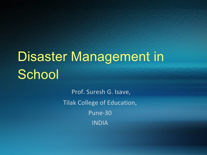 essays about disaster management Disaster management this research paper disaster management and other 64,000+ term papers, college essay examples and free essays are available now on reviewessayscom autor: review • april 24, 2011 • research paper • 5,913 words (24 pages) • 1,404 views.