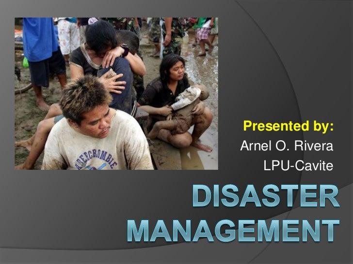 Presented by:Arnel O. Rivera   LPU-Cavite