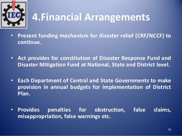 Disaster Management Act, 2005 and Disaster Management Framework in India