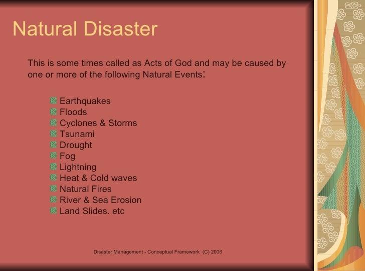 defination of natural disaster in 500 words 240 To order copies of the world disasters report, please contact wdr@ifrc and 2013) 240 8 focus on culture and risk world disasters report 2014 introduction culture.