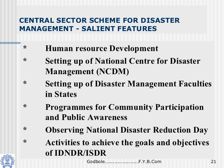 demerits of disaster management in india Free essays on advantages and disadvantages of disaster management get help with your writing 1 through 30.