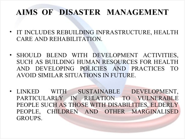 simple essay on disaster management Coping with disaster - coping with disaster this paper will discuss emergency preparedness and disaster management that are in this essay, a natural disaster is.