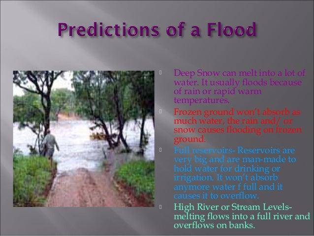 Disaster management of floods..