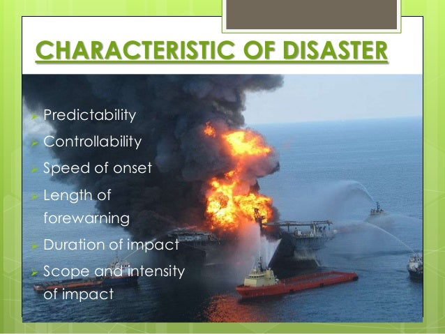 Are Natural Disasters Man Made