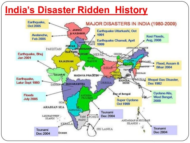 India S Natural Disaster Rank In The World