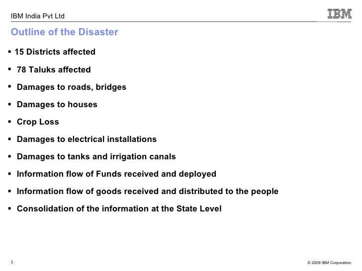 Disaster Management Project - Karnataka Slide 3