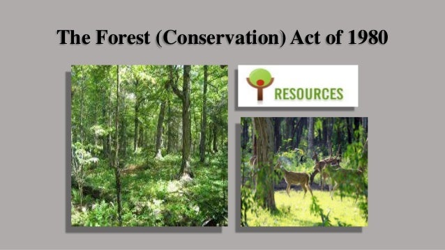 forest conservation act The indian forest act, 1927 was largely based on previous indian forest acts implemented under the british the most famous one was the indian forest act of 1878 the most famous one was the indian forest act of 1878.