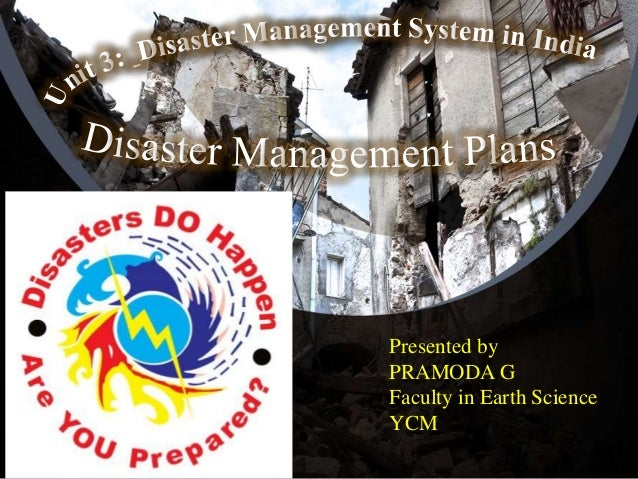 Presented by PRAMODA G Faculty in Earth Science YCM