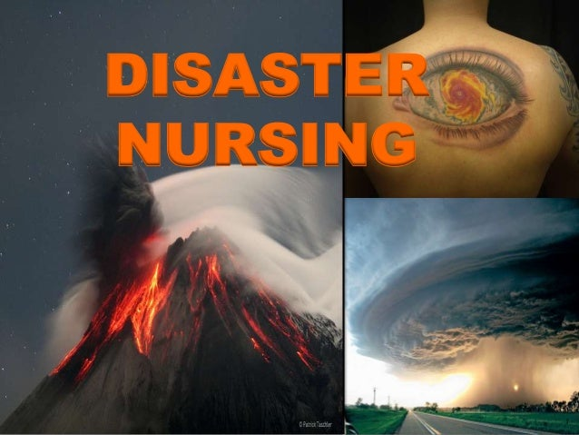 DISASTER NURSING