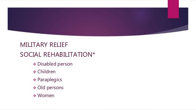 rehabilitation of people with disabilities health and social care essay Safeguarding in health and social care essay sample  mental health and behavioural problems, disabilities relationship: poor parenting practices, parental conflict .